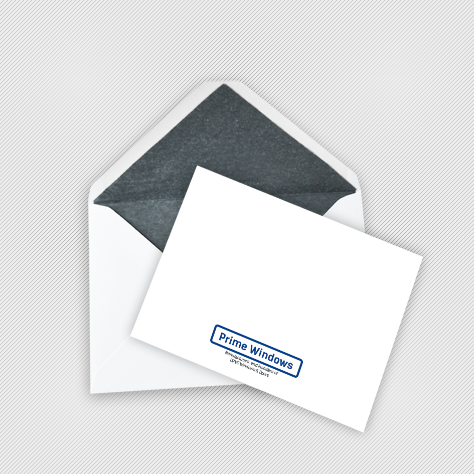 Correspondence Cards Printing - Plain White Business Envelopes Printing UK