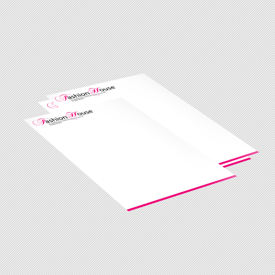 Letterhead Printing - Single or Double Sided Letterhead Printing UK
