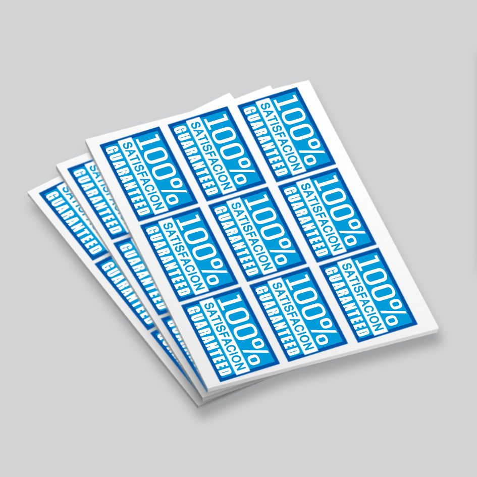 rectangle sticker label printing harrow, sticker label printing near me