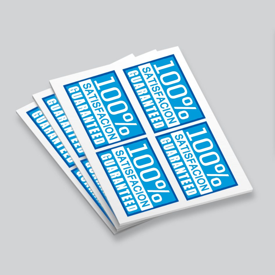 sticker label printing harrow london