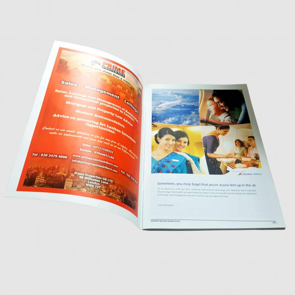 a4 stapled booklet printing | rush-print.co.uk