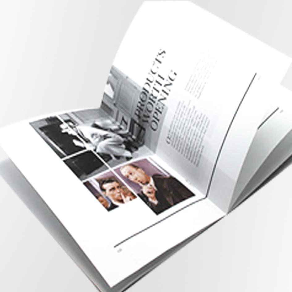 stapled booklet and brochure printing from rushprint | Free UK delivery