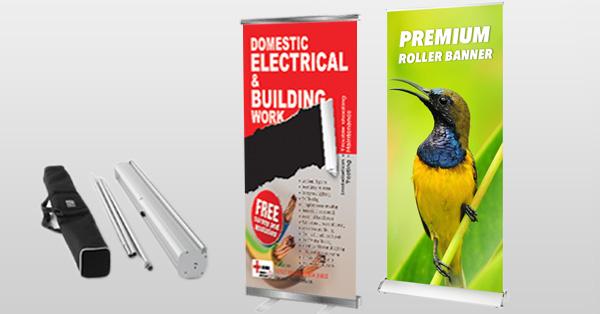 Roller Banners, Roll Up & Pop Up Banner Printing | Rushprint