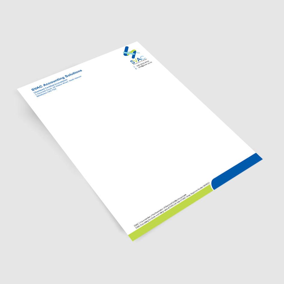 Letterhead printing - Rushprint