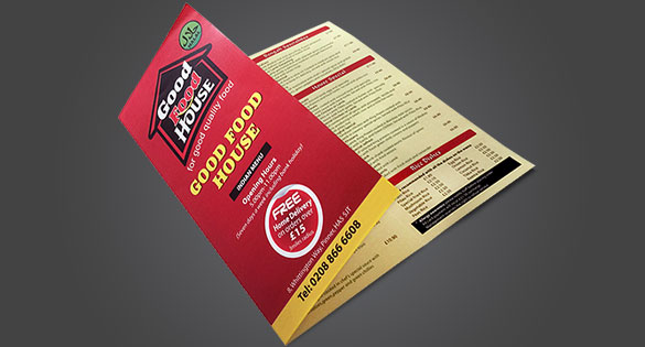 Folded Leaflets Printing and Brochure Printing