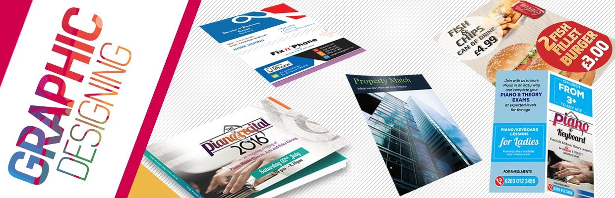 graphic designing from rushprint | leaflet, business cards, banner, poster